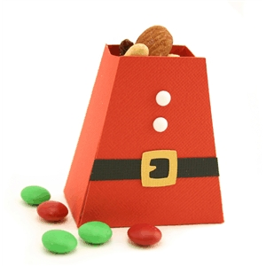 santa belly treat box