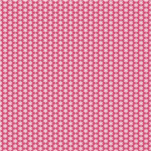 bright pink starflakes pattern