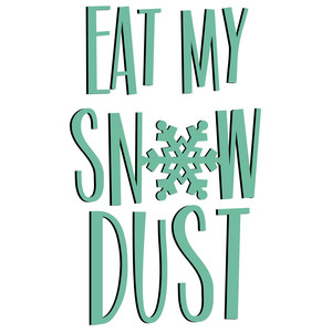winter cuties - snow dust