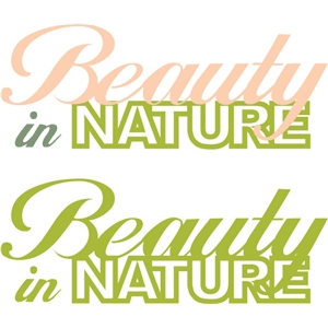 beauty in nature phrase