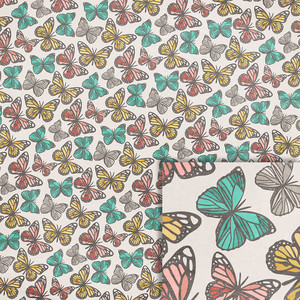 butterfly background paper
