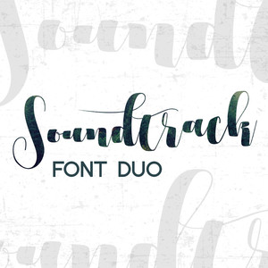 soundtrack font duo