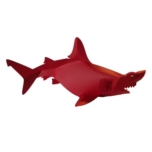 3d great white shark