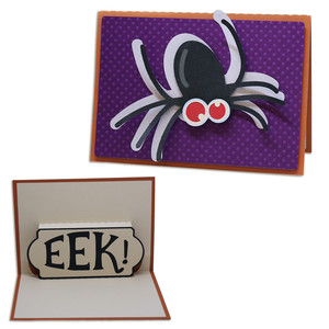 a2 pop-up spider card