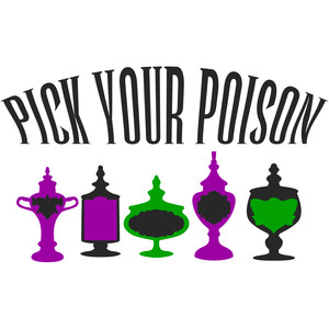 pick your poison - halloween