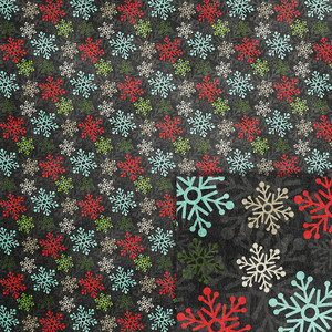christmas snowflakes background paper