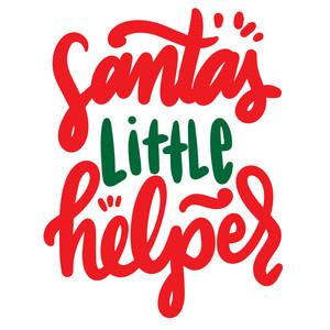 santa'a little helper