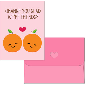 valentine print and cut orange