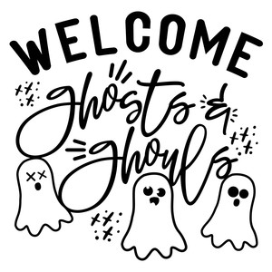 welcome ghosts and ghouls