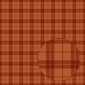 fall orange plaid seamless pattern