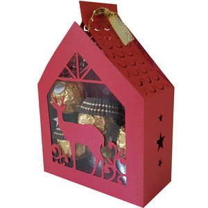 christmas house box