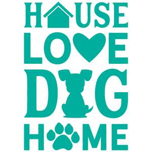 house love dog home