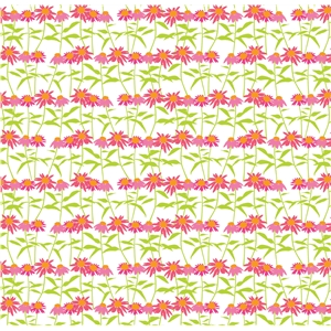 coneflower garden pattern