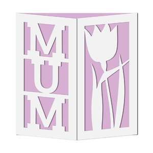 gate fold mum card