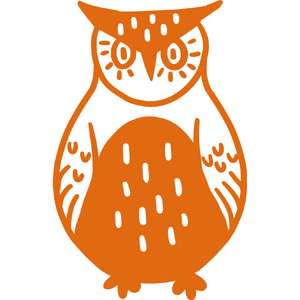 illustrated owl