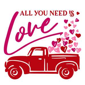 all you need is love truck