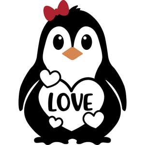 love penguin