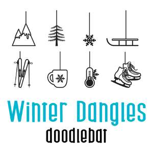 winter dangles doodlebat