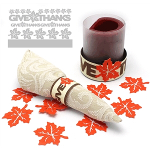 give thanks napkin rings