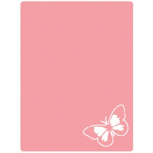 butterfly corner journaling card