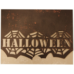 a2 card crescent closure halloween webs