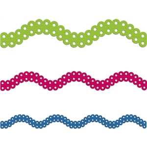 border curved dotted scallop