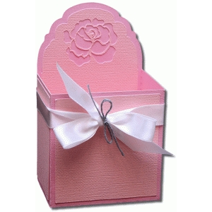3d rose decorative gift box
