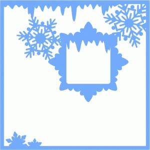 winter page frame