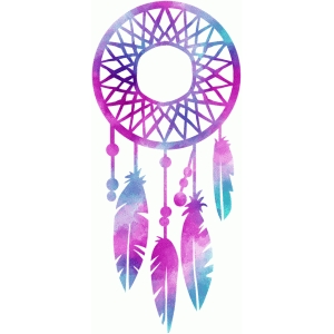 watercolor dream catcher