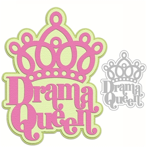 'drama queen' word phrase