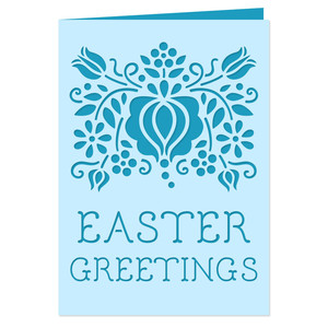 easter greetings 5x7