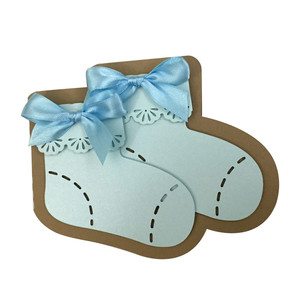 shoes baby card