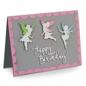a2 fairy birthday card