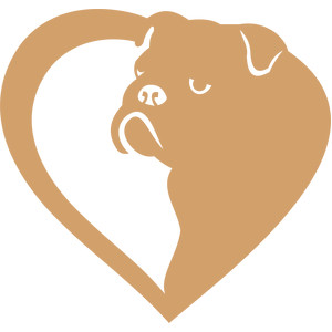bulldog heart