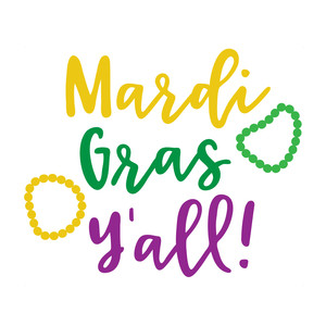 mardi gras y'all!