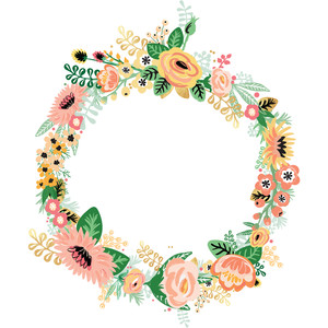 full floral wreath