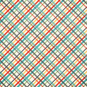 school plaid paper