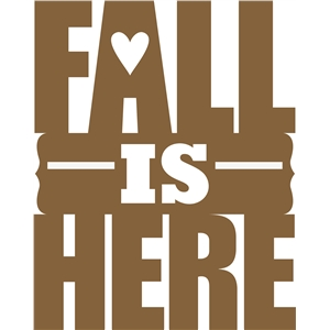 fall is here phrase