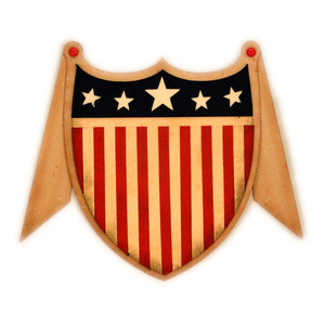 patriotic shield swag