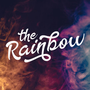 the rainbow font