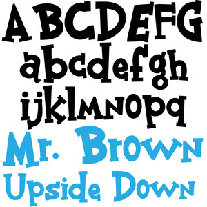 zp mr. brown upside down