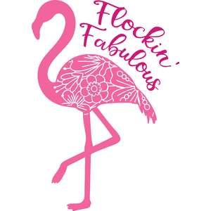 flockin' fabulous flamingo mandala