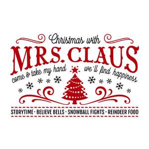 christmas with mrs claus