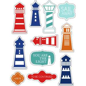 ml lighthouse nautical stickers