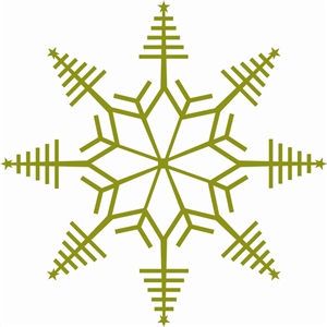christmas tree snowflake