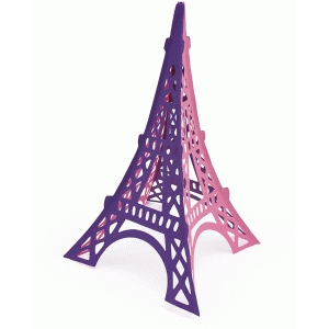 3-d samantha walker eiffel tower