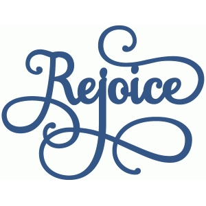 rejoice phrase - perfect flourish