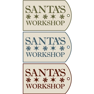 tags - santa's workshop