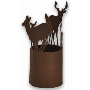 deer votive wrap