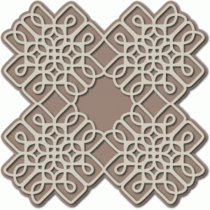 celtic tulip tile